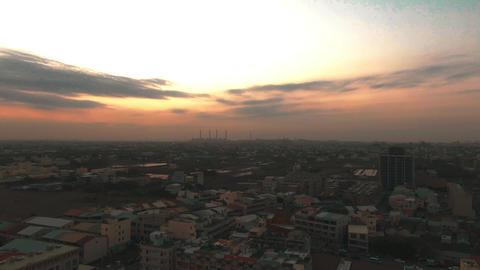 City sunset Live Action