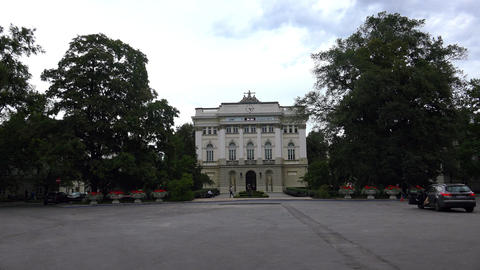 University of Warsaw. Poland. 4K Live Action