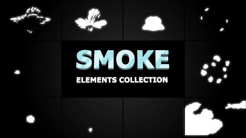 Smoke Elements Collection Apple Motion Template