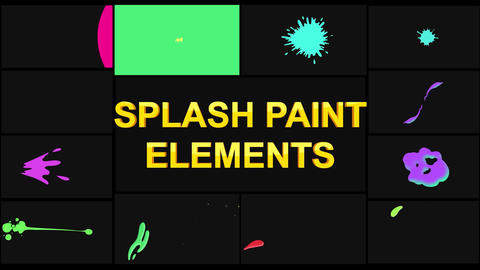 Splash Pack Motion Graphics Template