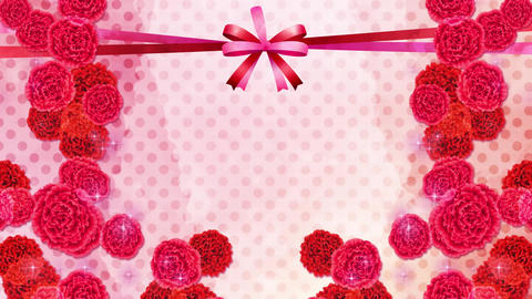 Carnation-red-pink-polka dot Animation
