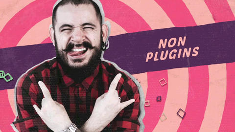 Grunge Creative Opener After Effects Template