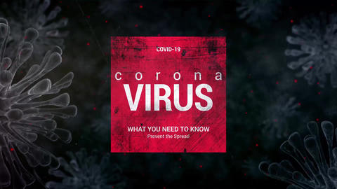 Corona Virus Explainer After Effects Template