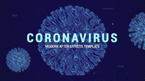 Coronavirus Slides After Effects Template