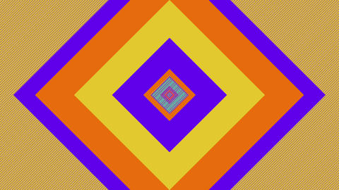 Abstract Background With Colorful Squares Animated On The Surface Animation