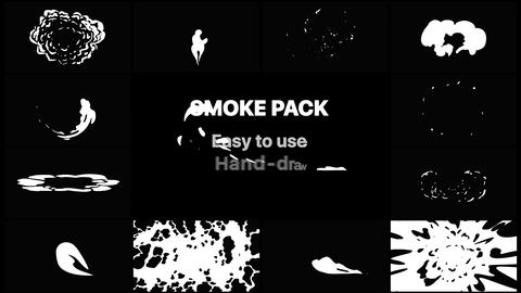 Smoke Elements Pack 04 After Effects Template