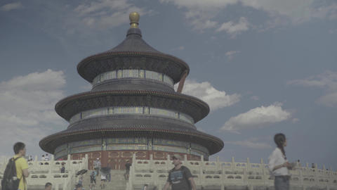 Temple of Heaven. Beijing. China. Asia Live Action