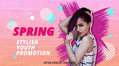 Stylish Youth Promo After Effects Template