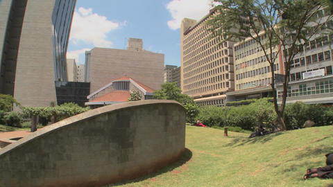 A memorial site in nairobi honors the terrorist bombings on the U.S. embassy of 1998 Footage