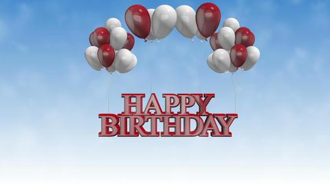 Happy Birthday_ballons Animation