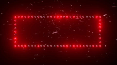 Wall of light. Red frame CG動画