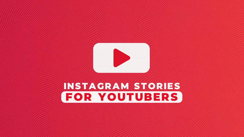 Instagram Stories For YouTubers v.3 Premiere Pro Template