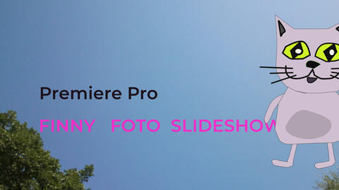Project Fales Finny photo slideshow Premiere Pro Template