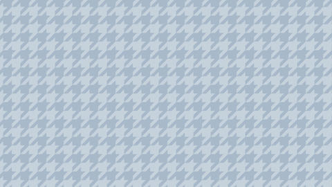 Houndstooth large pattern of blue. Seamless loop Videos animados