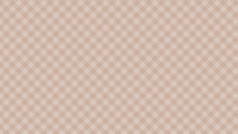 Gingham check diagonal pattern of brown. Seamless loop CG動画