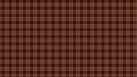 Tartan check pattern of brown. Seamless loop CG動画