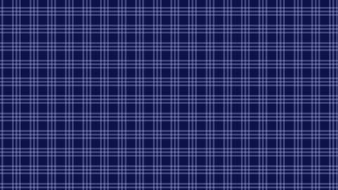 Tartan check pattern of blue. Seamless loop Animation