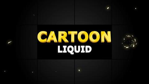 Cartoon Liquid Motion Graphics Template