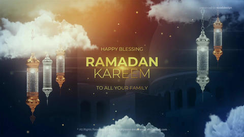 Ramadan Kareem Title After Effects Template