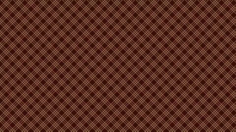 Tartan check pattern of brown. Seamless loop Videos animados
