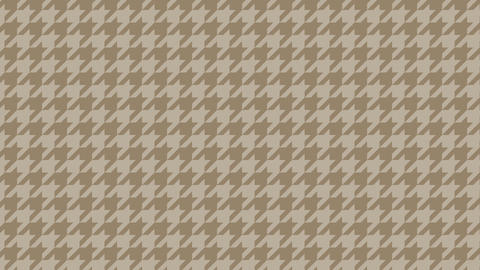 Houndstooth large pattern of brown. Seamless loop Videos animados