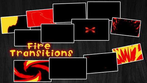 Fire Transitions Apple Motion Template