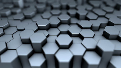 Steel Hexagons Animation