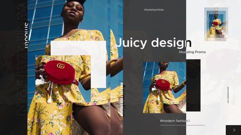Trendy Fashion Promo After Effects Template