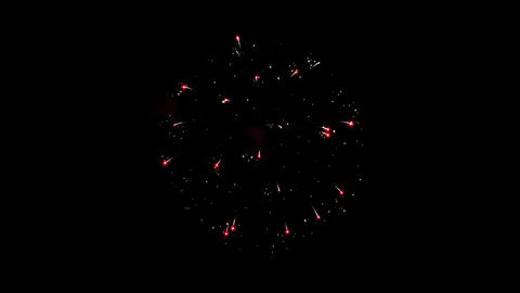 Fireworks Display the night sky Animation Live Action