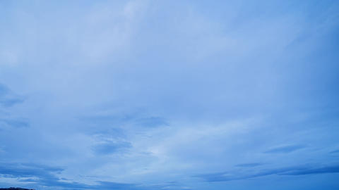Rain clouds at sunrise. Time Lapse Footage