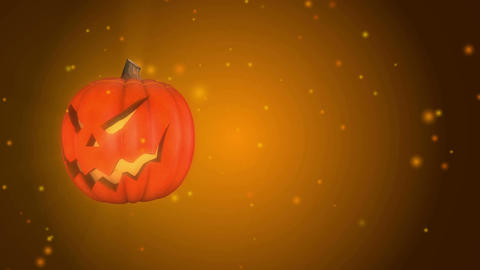Halloween Animated Background Evil Jack Loop A (4K Resolution) Animation