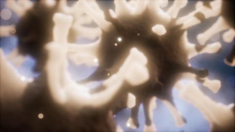 Coronavirus nCoV respiratory virus concept Live Action