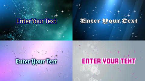 Atvn Text with Particle 01 Motion Graphics Template