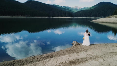 Drone Video Session Wedding Day Live Action