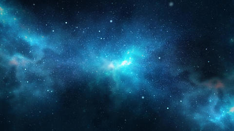 Planets and galaxy science Deep Space star 4K Loop Animation background Live Action