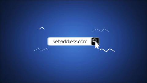 Quick Web Search Logo Reveal Premiere Pro Template