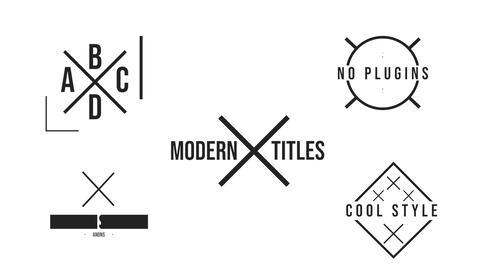 X Titles Premiere Pro Template