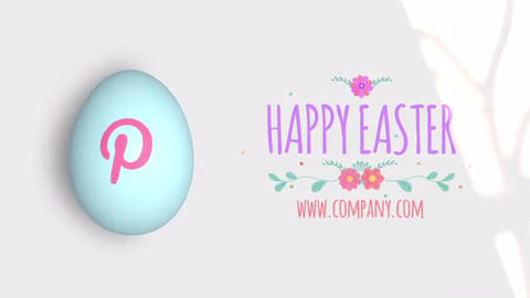Happy Easter After Effects Template
