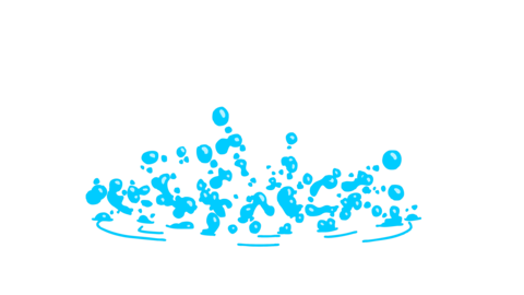 Water Elements 2D Cartoon FX 4K (animation) Animation