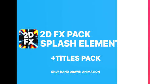 Splashes And Titles Apple Motion Template