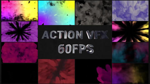 Action VFX Transitions Pack Motion Graphics Template