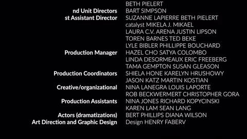 Film Credits 2 Plantilla de Apple Motion