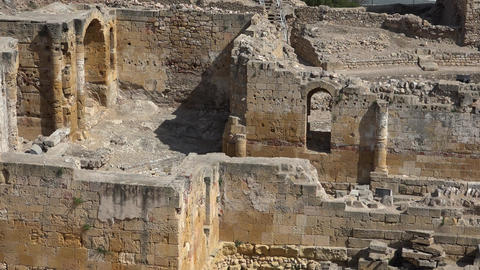 Ancient Walls And Archeological Ruins Live Action