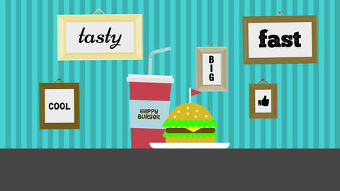 Food Opener Motion Graphics Template