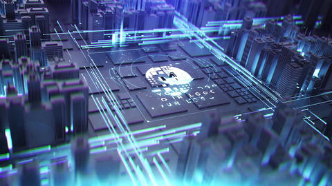 Epic Digital City After Effects Template