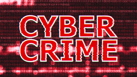 4K Cyber Crime Corrupted Signal Notification Display 4 Animation