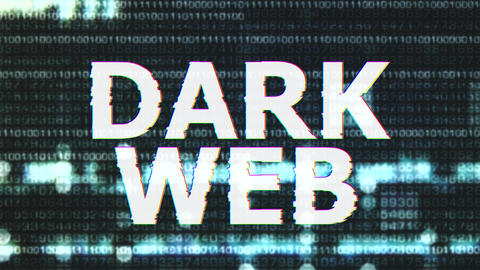 4K Dark Web Corrupted Signal Notification Display 2 Animation