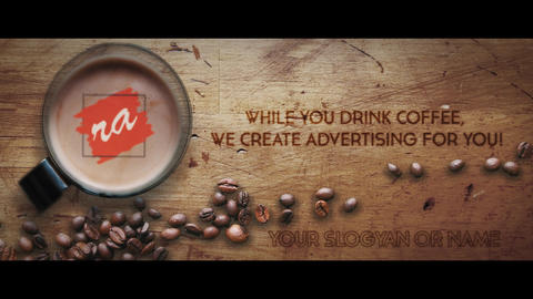 Logo Intro Coffee After Effects Template