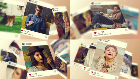 Instagram Slideshow After Effects Template