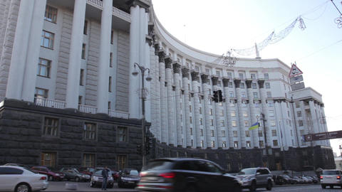 Cabinet of Ministers. Kyiv. Ukraine Live Action